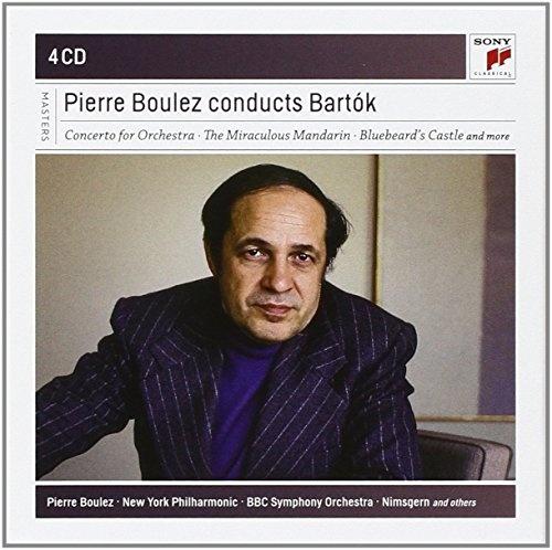 Pierre Boulez Conducts Bartók [Sony]