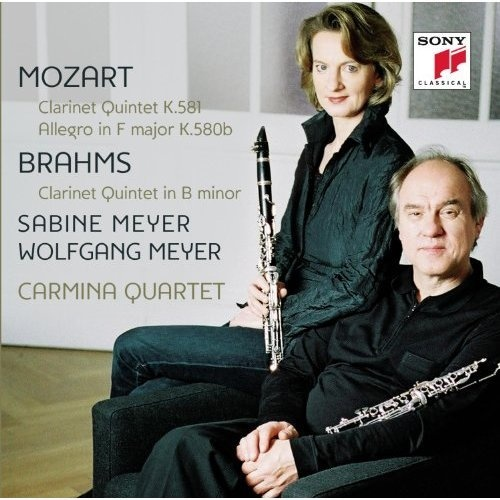 Mozart: Clarinet Quintet K.581; Allegro in F major K.580b; Brahms: Clarinet Quintet in B minor
