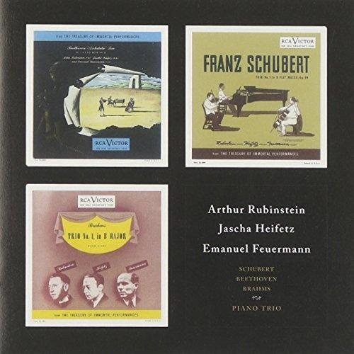 Beethoven, Schubert, Brahms: Piano Trios