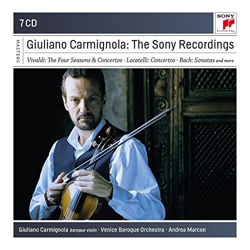Giuliano Carmignola: The Complete Sony Recordings