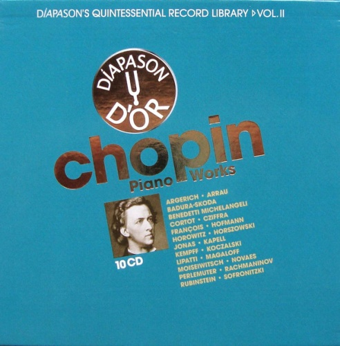 Chopin: Piano Works [Diapason d'Or]