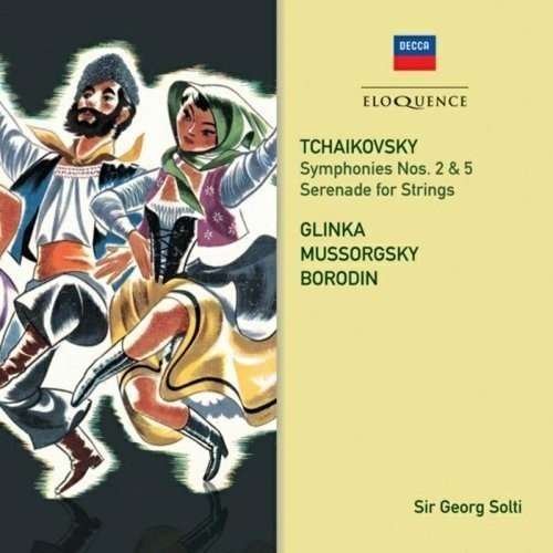 Tchaikovsky: Symphonies Nos. 2 & 5; Serenade for Strings; Glinka, Mussorgsky, Borodin