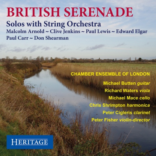 British Serenade: Solos with String Orchestra