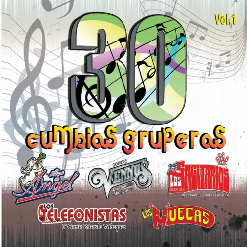 30 Cumbias Gruperas, Vol. 1