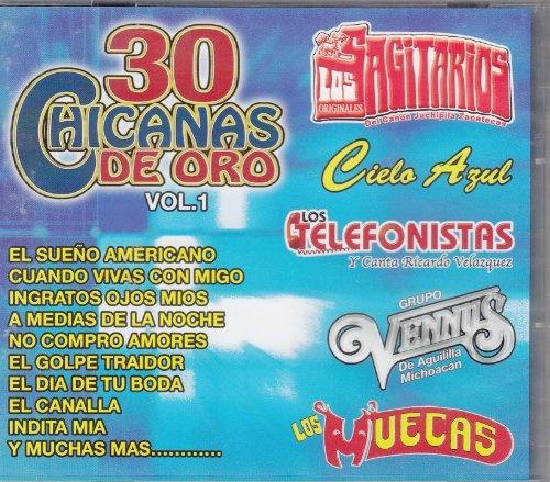 30 Chicanas de Oro, Vol. 1
