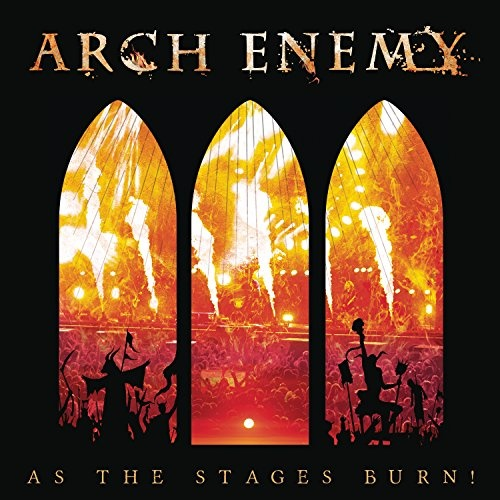 As the Stages Burn! [CD+DVD+Blu-Ray Boxset] [Limited Deluxe