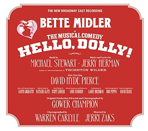 Hello dolly 2017 broadway cast recording bette midler songs hello dolly 2017 broadway cast recording stopboris Choice Image