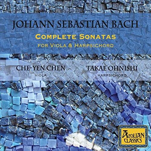 Johann Sebastian Bach: Complete Sonatas For Viola & Harpsichord