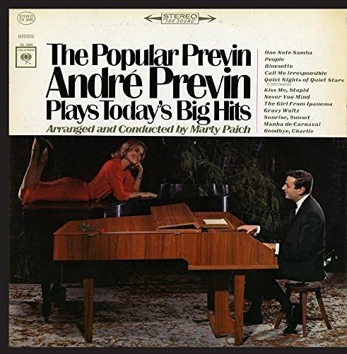 The Popular Previn: André Previn Plays Today's Big Hits