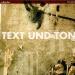 Text und Ton
