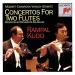 Mozart, Cimarosa, Vivaldi, Stamitz: Concertos for Two Flutes