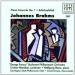 Brahms: Piano Concerto No. 1 & Schicksalslied